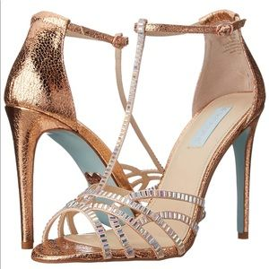 "Blue by Betsy Johnson ""Ruby"" dress sandal"